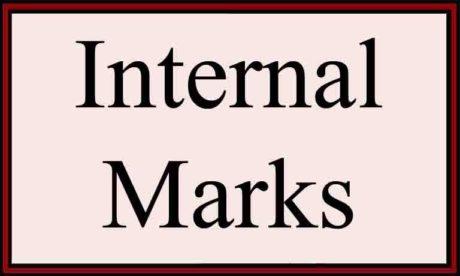 Anna University internals Internal marks